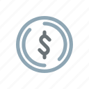 american, currency, dollar, fiat, finance, money, sign icon