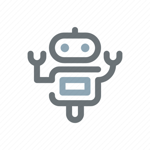 android, artificial, automation, intelligence, robot, robotics, toy icon