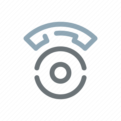 call, contact, dial, disk, phone, retro, rotary icon
