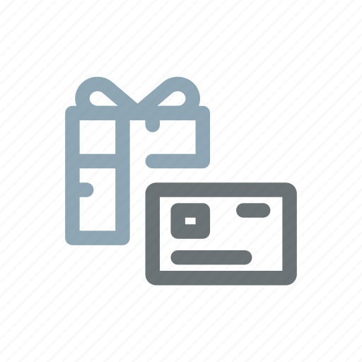 card, consumer, gift, offer, present, shop, shopping icon