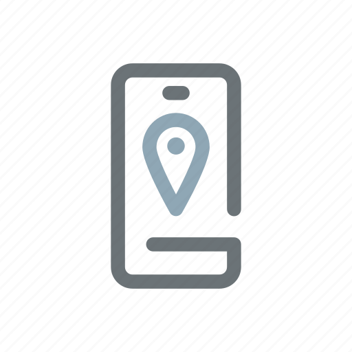 finder, gps, location, map, mobile, smartphone, tracker icon