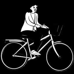 peep, sitting, cycle, cycling, human