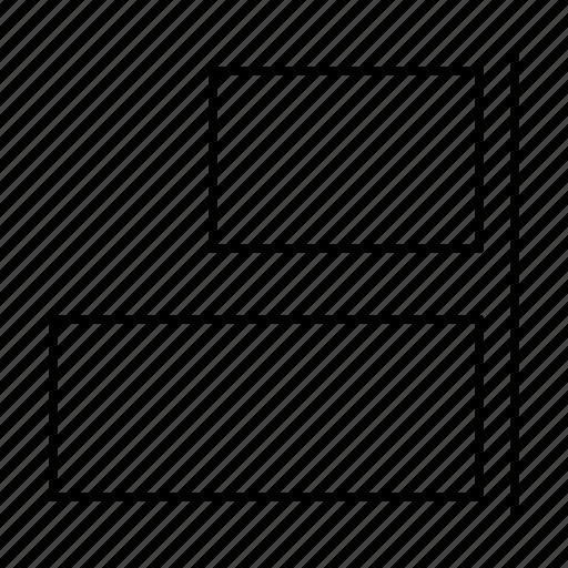 alignment, computer, interface, program, right, user icon