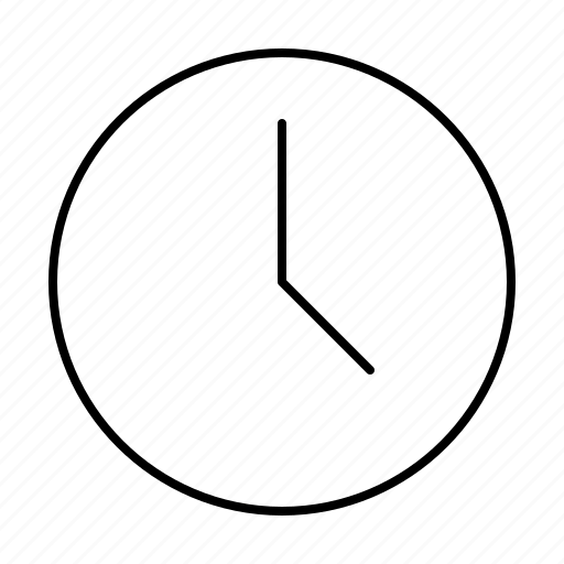 clock, computer, interface, program, user icon