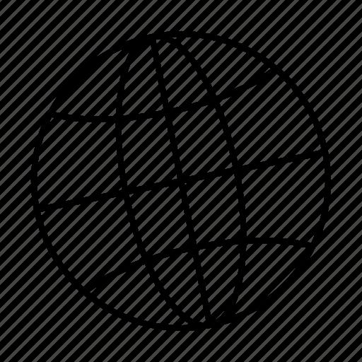 computer, globe, interface, internet, program, user icon