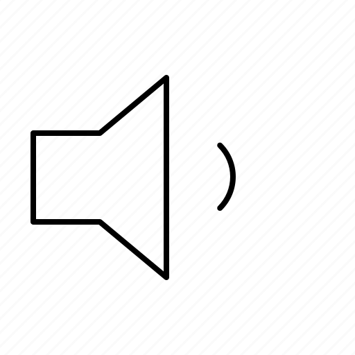 Computer, interface, low, program, speaker, user, volume icon - Download on Iconfinder