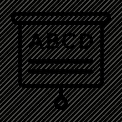 Alphabets Eye Chart Eye Test Eye Vision Scale Snellen Chart Icon