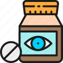 check, diagnostic, medicine, ophthalmology, tablet, vision, vitamin
