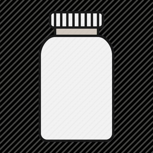 Bottle, drugs, medication, medicine, pills, prescription, treatment icon - Download on Iconfinder