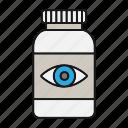drugs, eye, eyesight, medication, pills, treatment, vision