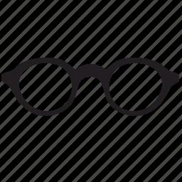 geek, glasses, man, optics, smark icon