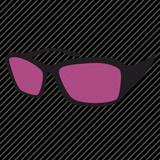 eye, eyeglasses, glass, glasses, sunglasses, uf, violet icon
