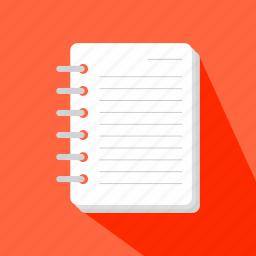 address, agenda, bookmark, business, finance, notebook icon