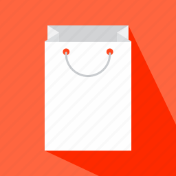 bag, commerce, container, paper, shop icon