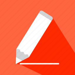 draw, edit, education, pencil, sketch, writing icon