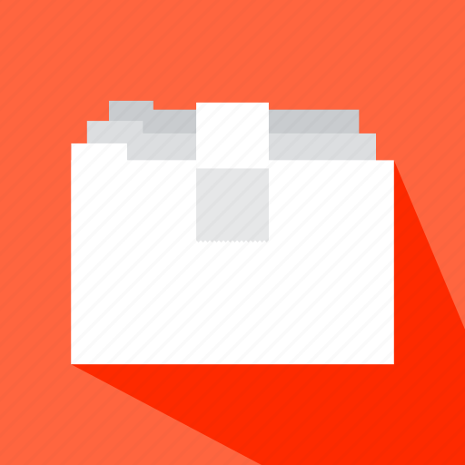 file, folder, interface, material, office, storage icon