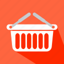 basket, container, purchase, shop, shopping, store icon