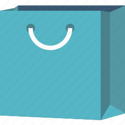 bag, container, paper, shop icon