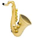 saxophone, music, instrument, jazz icon