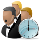 choir, clock, sing, song, time icon