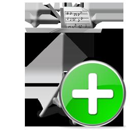 add, mydocuments icon