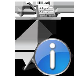 info, mydocuments icon