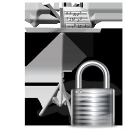 lock, mydocuments icon
