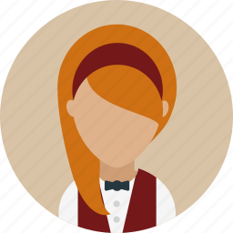 avatar, catering, female, waitresses, work icon