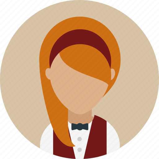 Avatar, catering, female, waitresses, work icon - Download on Iconfinder