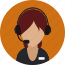 call, help, help desk, message, operater, person, support icon