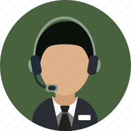 call center, help, help desk, operater, service icon