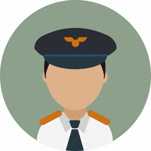 Airplane, avatar, captain, flying, pilot, work icon - Download on Iconfinder