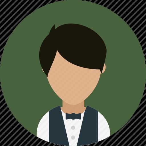 Avatar, hotel, restaurant, services, waiter icon - Download on Iconfinder