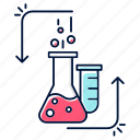 analysis, chemical, experiment, flask, reaction, scientific, test
