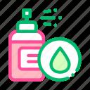 cosmetic, drop, lotion, spray icon
