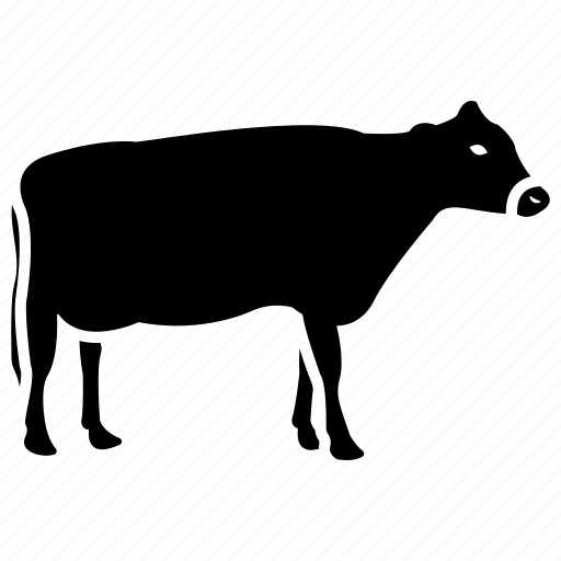 animal, bull, farm animal, farm cow, field cow icon