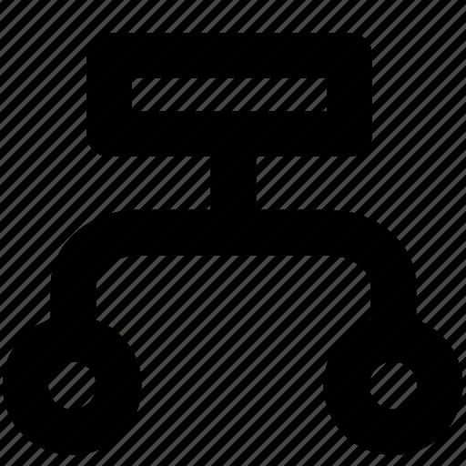 deployment, organization, structure icon