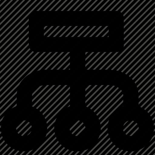 arrange, array, deploy, dispose, organization, structures icon