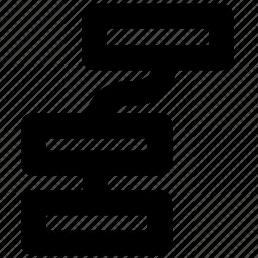 arrange, array, deploy, dispose, organization, structure icon