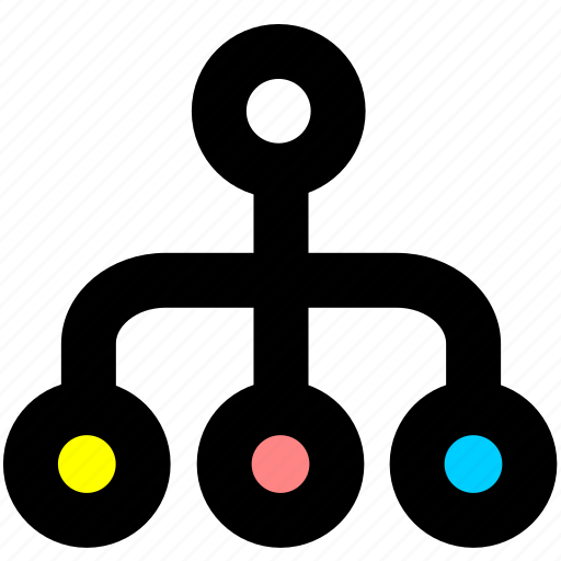 directory, organization, relationship, structure icon