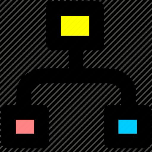 organization, relationship, structure icon
