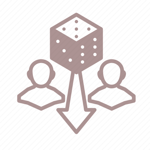 challenge, d6, dice, dice roll icon
