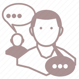 chat, conversation, game, roleplay, rpg, social icon