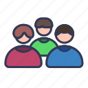 group, user, people, team, organization