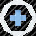 medical, cross, zoom, add, plus, sum, medicine, new, create, in icon