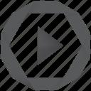audio, film, movie, multimedia, music, play, player, stream, video, youtube icon