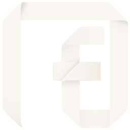 channel, f, facebook, fan, fan page, follow, like, origami, page, social, social media icon