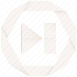audio, multimedia, next, player, video icon