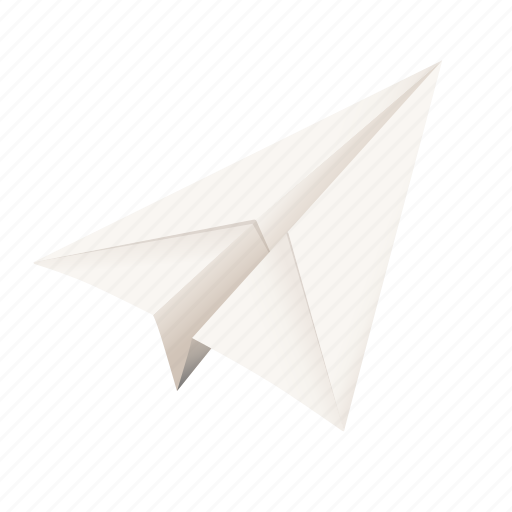 airplane, email, letter, mail, origami, paper plane, post, send icon