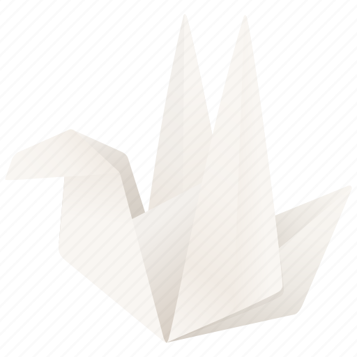 animal, bird, follow, origami, tweet, twitter icon